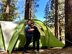Big Bear Home • 2016 (xBReXx) Tags: explore life nature streetphotography adventure fun couple girlfriend boyfriend love hike bigbear tent camping