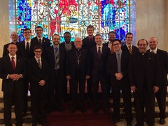 Visit of Bishop Malone (Diocese of Buffalo) to St. Mark Seminary - March 2017
