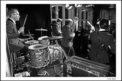 Perry Dear & The Deerstalkers (4) (frode skjold) Tags: perrydearthedeerstalkers perøydir bjarteagdestein bernterikandreassen magnusforseth mir toftesgate oslo norge norway grünerløkka beat 60´s theindikation peterberrytheshakeset leicadlux5 blackwhite bw monochrome music musicians concert gig stage band group fendervibass burns burnsoflondon vox ludwigdrums