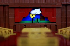 Brick Theater Presents... (jsnyder002) Tags: lego moc micro creation theater stage play
