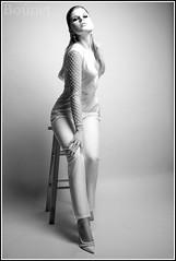 Attitude-4.... (pretorrien) Tags: kayt model sonya7r canon fd 35mm f2 studio fashion black white einstein 640 paul c buff beauty dish softbox