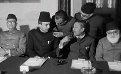 Nurul Amin, Nawabzada Nasrullah Khan, Sheikh Mujibur Rehman and Abul Aala Maudoodi (Doc Kazi) Tags: president ayub khan muhammad pakistan history end regime talks 3 march 1969 all leading politicians except bhutto