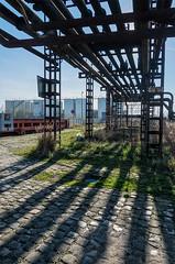 Industrial relicts (jefvandenhoute) Tags: belgium belgië belgique antwerp antwerpen antwerpenzuid petrolzuid light nikond800 photoshopcs6 industrialarcheology