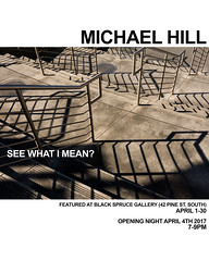 'See What I Mean?' (Canadapt) Tags: exhibition gallery exhibit show poster flyer announcement timmins ontario canadapt