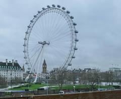 London Eye (Rabbi WP Thinrod) Tags: london eye charingcross railway bridge westminster bigben queenelizabethtower