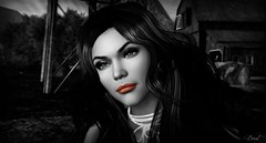 Nothing is JUST black and white (SneekyBrat) Tags: bubbles black white beauty friendships ffp funfreephotography