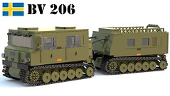 Bandvagn 206 (Matthew McCall) Tags: lego swedish sweden cold war bandvagn 206 bv transport carrier military army moc