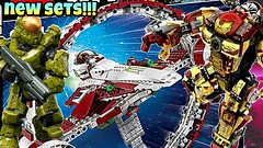 IMPRESSIVE New 2017 Summer Sets | Lego Star Wars + Mega Construx Halo + Lepin | BrickNews Ep51 (ChewyBricksTV) Tags: new summer 2017 sets lego star wars jedi starfigghter with hyperdrive mega construx halo fireteam dagger lepin iron man