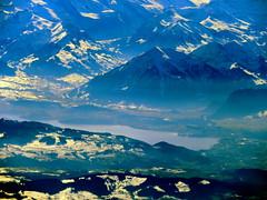 The Niesen (oobwoodman) Tags: switzerland suisse schweiz aerial aerien luftaufnahme luftphoto luftbild alps alpen alpes mountains montagnes berge mucgva snow schnee neige berneroberland niesen thunersee