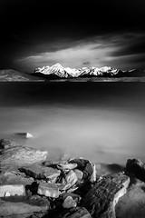 Lago di Campotosto (Massimo Mariotti) Tags: bw campotosto landscape lake mountain sky