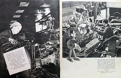 1959. Дорохов А. Как гайка толкнула грузовик 26-27 (foot-passenger) Tags: детскаялитература дорохов грузовик 1959 зил zil childrensliterature
