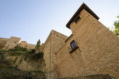 Walls of Alacazar of Malaga (rschnaible) Tags: alcazar malaga spain espana europe building architecture old history historic sightseeing tour tourist wall fort fortress