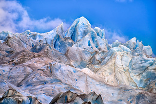 Colores del Glaciar Los Leones - PN. Laguna San Rafael (Patagonia - Chile)