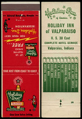 Holiday Inn in Valparaiso, Indiana - Matchcover (Shook Photos) Tags: match matches matchbook matchbooks matchcover matchcovers smoke smoking advertise advertisement promotion promotional valparaisoindiana valparaiso indiana portercounty holidayinn hotel inn motel