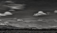 the invasion... (Alvin Harp) Tags: california us395 lenticularclouds ufo monochrome bwlandscape cloudscape bw mountains abstractnature naturesbeauty sonyilce7rm2 fe24240mm april 2017 alvinharp cloudsstormssunsetssunrises