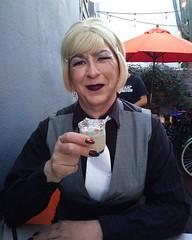 April 2017 (Patrice Bailey) Tags: blonde cd crossdress crossdresser crossdressing ts tv tg tgirl tgurl gurl tranny transvesite transgender out earrings
