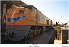 UP GTEL 26 (Robert W. Thomson) Tags: up unionpacific ge gtel gtel8500 gasturbin gasolineturbinedieselelectric train trains trainengine railroad railway ogden utah
