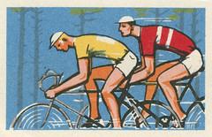 russian matchbox label (maraid) Tags: russia russian komsomol ussr sovietunion youth matchbox label packaging cycling bicycle bike race sport outdoors leisure
