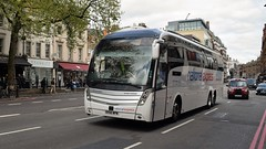 Edwards Coaches - National Express. BV66 WPW. (Drive-By Photography) Tags: edwards nationalexpress bv66wpw volvo b11rt caetano levante bus coach knightsbridge london cardiff 508