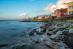 San Cristobal (Gran Canaria) (David Hdez. ) Tags: mar océano playa costa sea ocean beach piedras stones amanecer sunrise sancristóbal grancanaria islascanarias canaryisland olympusomdem5markii