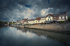 Amiens France (EtienneR68) Tags: amiens city cityscape colors houses ville landscape reflet eau reflection water marque a7r2 a7rii pays france picardie