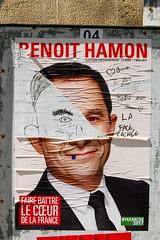 Hamon (pierre-alain dorange) Tags: élections présidentielles 2017 affiches affiche