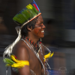 Índio Guarani (Rita Barreto) Tags: índio índioguarani tupiguarani aldeia aldeiaindígena aldeiaribeirãosilveira boracéia estadodesãopaulo brasil litoralnorte diadoíndio 19deabril