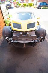 ZF2Y6472.jpg (Adam the ribless) Tags: repair racecar removal vx220 elise lotus ly36 sun clam fiberglass british vauxhall sportscar servicing radiator performance racing