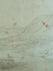 BLOEMAERT Abraham,1650 - Rivière dans une Gorge où un Homme debout regarde un autre pêcher (Louvre INV22489) - Detail 47 (L'art au présent) Tags: art painter peintre details détail détails detalles drawing drawings dessin dessins dessins16e 16thcenturydrawings dessins17e 17thcenturydrawings dessinhollandais dutchdrawings peintreshollandais dutchpainters louvre paris france abrahambloemaert abraham bloemaert homme man men portrait portraits face visage chapeau hat hats peasant peasants paysan farmer figures personnes people pose model croquis étude study sketch sketches paysage landscape view panorama mountain mountains montagne fisherman fishermen river lac lake rivièrerocks rock stone pierre stones
