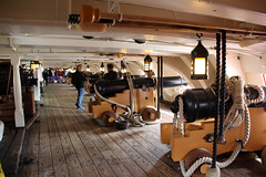 HMS Victory Upper Gun Deck (30) (NTG's pictures) Tags: portsmouth historic naval dockyard hms victory lord nelson flagship trafalger