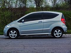 Mercedes-Benz A170 (vladboryshpol) Tags: speed canon mercedes benz russia ukraine fujifilm hs20 a170 w169