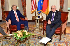Secretary Kerry Meets With German Foreign Minister Steinmeier (U.S. Department of State) Tags: nyc germany un unitednations johnkerry unga frankwaltersteinmeier unga2014