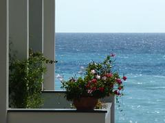 P1080573 (MicinaSonia) Tags: tramonto nuvole mare agosto sole lungomare calabria spiaggia isola diamante aquiloni paese aquilone cirella hoteldiamante