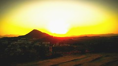 Beautiful sunset in Calasparra (clarinett98p) Tags: sunset nature atardecer murcia calasparra