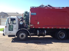 old Suburban Waste truck (Scott (tm242)) Tags: trash dumpster truck garbage side debris rear dump disposal front bin collection rubbish trucks fl waste refuse recycle loader removal recycling load hopper collect packer rl landfill haul asl msl