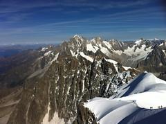 Monte  l'Aiguille du Midi (facon.badou_bjd) Tags: nature montagne ciel neige nuages chamonix extrieur