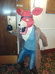 Foxy The Pirate! (theycallmebrant) Tags: furry five minneapolis pirate fox convention nights migration freddys fursuit fnaf fm2014
