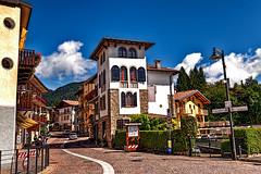 Dorga - La strada principale (Marco Trov) Tags: street italy strada italia bergamo lombardia hdr dorga marcotrov marcotrovo