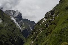 HIMALAYA (BER ARCE) Tags: road trip nepal mountain clouds landscape rocks asia photographer walk peak abc himalaya annapurna artdirection basecamp arce bernardarce berarce