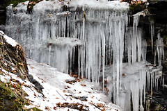 FOTO 1 - Icy  waterfall (Stefano Paradossi) Tags: winter inverno ghiaccio i