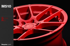 m510-gloss-red (AG Wheels) Tags: red wheel one coat wheels powder level gloss custom rim rims avant garde avantgarde bespoke level1 powdercoat m510 agwheels