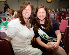 Miss Mayo Erin Carroll and mom, Karen