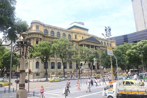 Exterior, Museu Nacional de Belas Artes