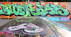 Den Haag Graffiti (Akbar Sim) Tags: holland netherlands graffiti nederland denhaag thehague agga mient akbarsimonse stichtingaight akbarsim blockjamsegbroek