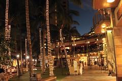 Waikiki Beachwalk (Prayitno / Thank you for (10 millions +) views) Tags: life beach night shopping island hawaii waikiki oahu walk restaurants entertainment shops hi honolulu hnl beachwalk konomark