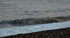 159 Newcastle 160714 wide (Philip D Ryan) Tags: ireland twilight surf wave eveninglight breakingwave newcastlebeach irishsea countywicklow shinglebeach