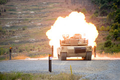 M1A1 SA Abrams Live Fire (PANationalGuard) Tags: training tank fig pennsylvania military tag guard pa national nationalguard png annville abrams base center pang natl indiantown m1a1 county guard fort national 17003 ft pa base co military pennsylvania installation gap ftig lebanon indiantown