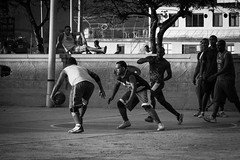 street basket ball (Theodor Hensolt) Tags: world street camera city portrait bw white black eye souls canon germany square lens deutschland photography prime flickr moments faces candid creative commons going scout scene snap best collection explore crop squareformat 7d sw moment 18 unposed left santiagodecuba kuba photograpy theodor strassenfotografie dormitz flickriver desisive hensolt