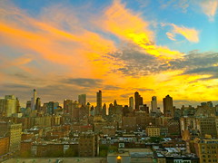 Upper West Side Sunset (Sarah_Ackerman) Tags: nyc sunset newyork manhattan upperwestside uws