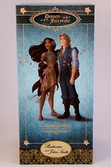 Pocahontas and John Smith Doll Set - Disney Fairytale Doll Collection - Disney Store Purchase - Boxed - Front View (drj1828) Tags: john us dolls designer smith covered merchandise boxed purchase limitededition pocahontas disneystore firstlook dollset le6000 disneyfairytaledesignercollection